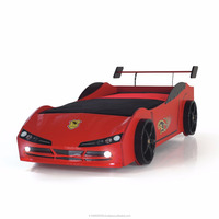 Woody Car Bed, Economic Car Bed,F1 Race Kids Bed, Red Car Bed