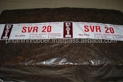 NATURAL RUBBER SVR 20- GOOD PRICE (meet the basic requirements of tire technology)