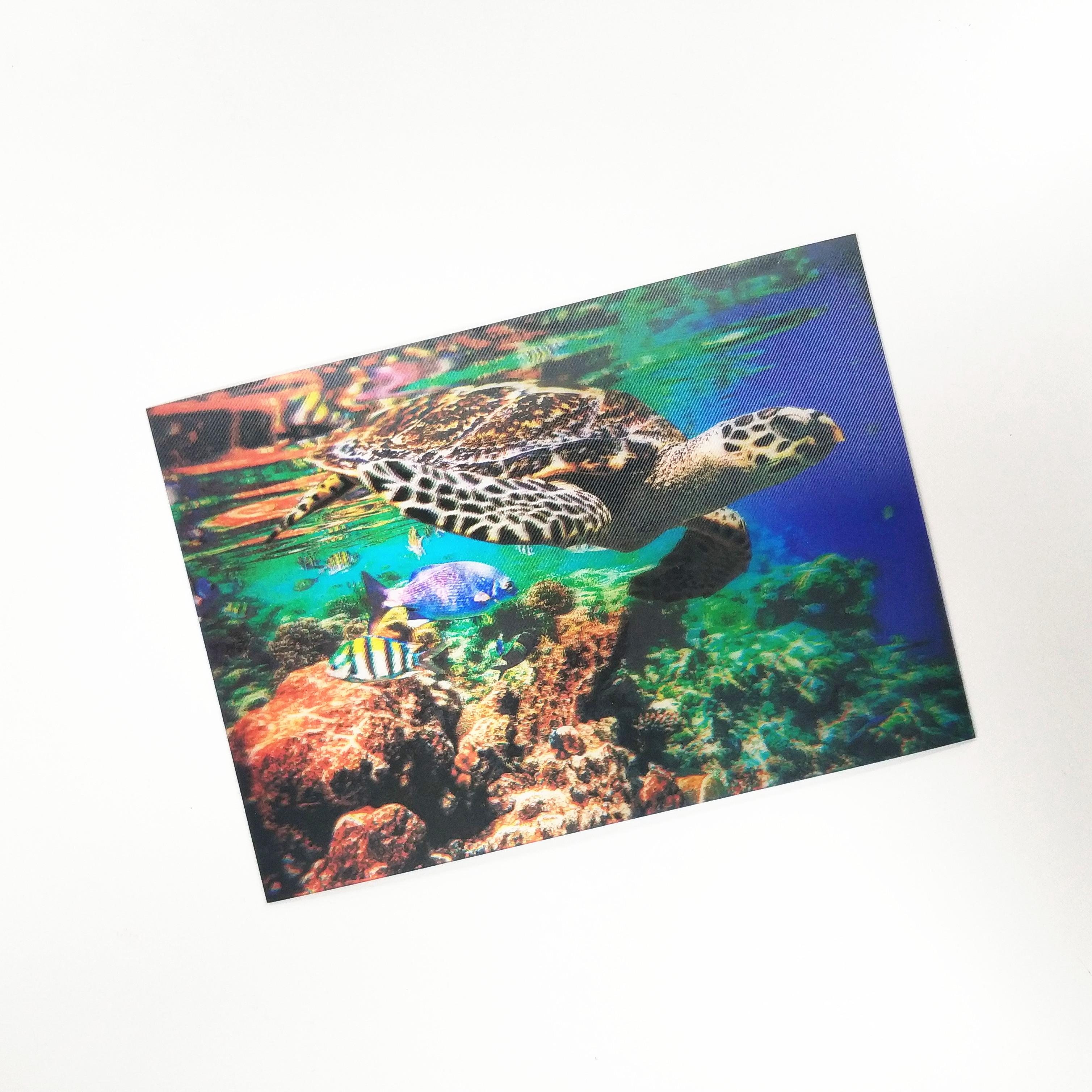 Тематическая лентикулярная открытка