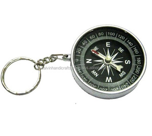 Target Retail COMPASS KEYRING Key Chain CHCOM355