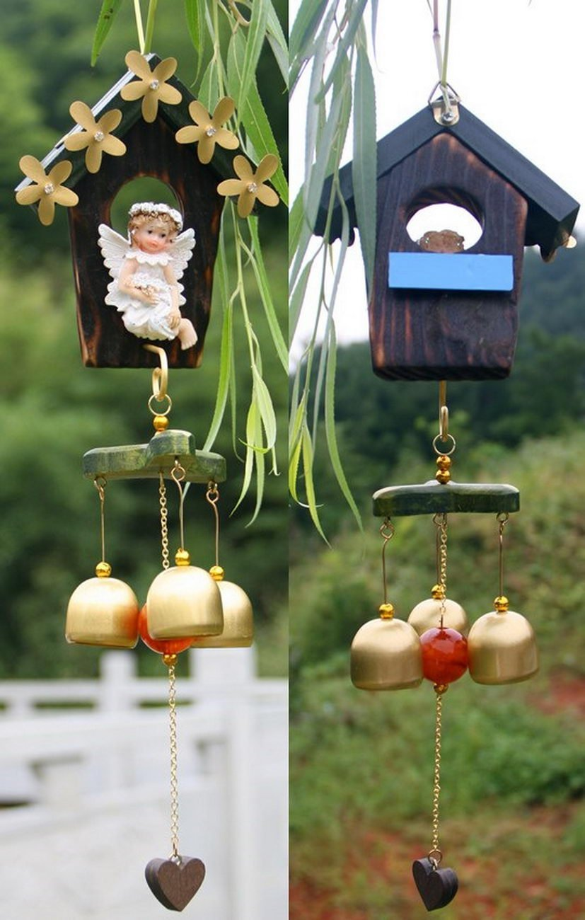 birthday gift crafts wind chimes home korean artistic conception wood ornaments birthday birthday gifts solid wood birthday gift craft wind chimes wind chimes craft wind chimes