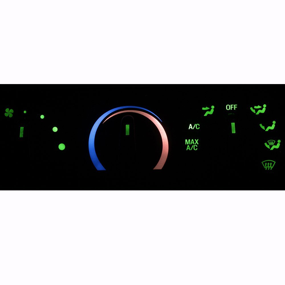 HERCOO LED Lights Bulbs Kit of AC Climate Heater Control for 1999-2004 F250 F350