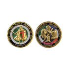 Custom Put On The Whole Armor Of God Challenge Coin
