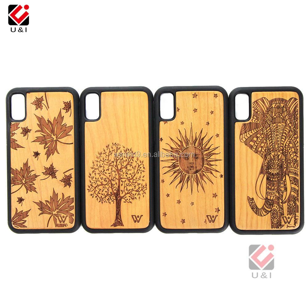 2020 Wood Grain Mobile Phone Case TPU Cell  Phone Shell for iPhone XS Max