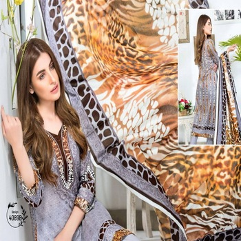 pakistani printed lawn dresses / pakistani salwar kameez designs / ladies readymade suits in lahore