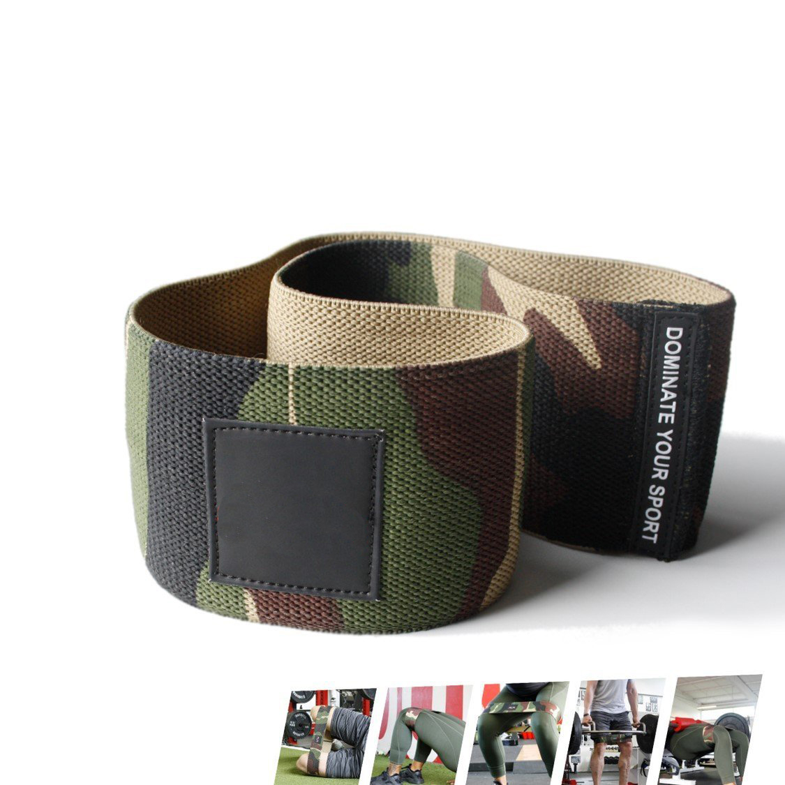 Factory Hip Compression Belt Belt Women Stretch Resistance Bands Wholesale