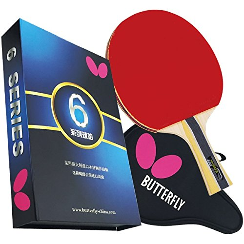 Butterfly 603 Table Tennis Racket Set - 1 Ping Pong Paddle – 1 Ping Pong Paddle Case - Gift Box - ITTF Approved – Great Speed and Spin