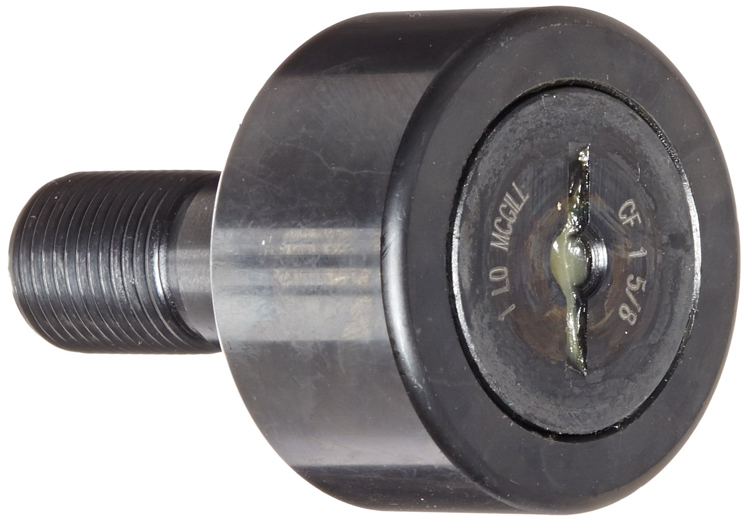 Regular Stud with Screwdriver Slot Unsealed Smith Bearing CR-3 1//4 Cam Follower Needle Roller Bearing 3.250