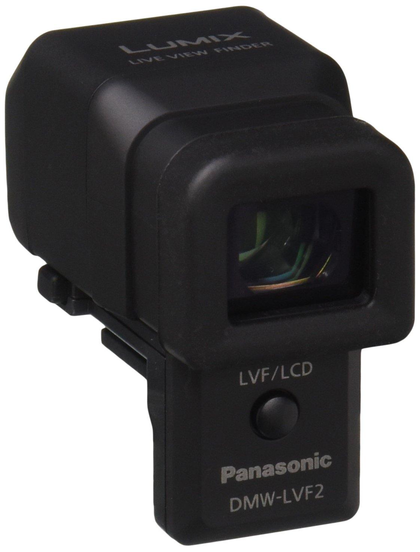 Panasonic DMW-LVF2 External Live View Finder for DMC-GX1, DMC-LX7 Cameras (Black)