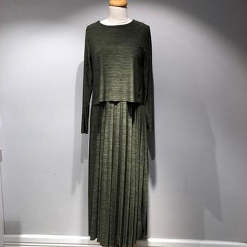 11728e4bd32 Trendy Accordion Pleated Maxi Skirt Dress - Buy Stylish Maxi Dress ...