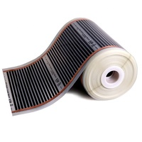 KOREA BEST RexVa Electric PTC heating film - Carbon Heating foil- Infrared film heater - Floor heating element_1