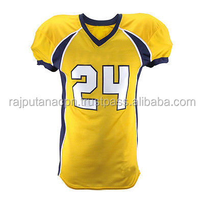 Football One Set Customized Tackle Twill Shoulder Numbers for Any Team un-sewn