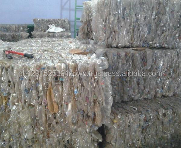 100% Clear PET Bottles Plastic Scrap for Sale