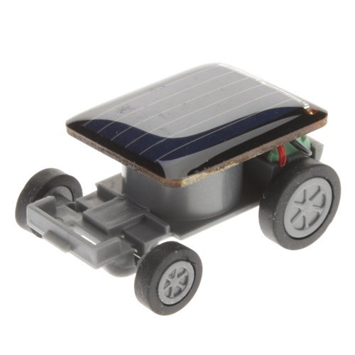 Qinmay Solar Car - World's Smallest Solar Powered Car - Educational Solar Powered Toy