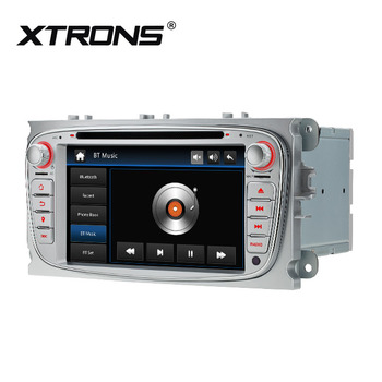 "XTRONS monitor 7"" car navigation gps for Ford Focus/C- max/Galaxy with RDS bluetooth region free dvd"