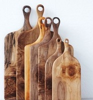 Rusticity Wood Chopping Board Tray for Kitchen
