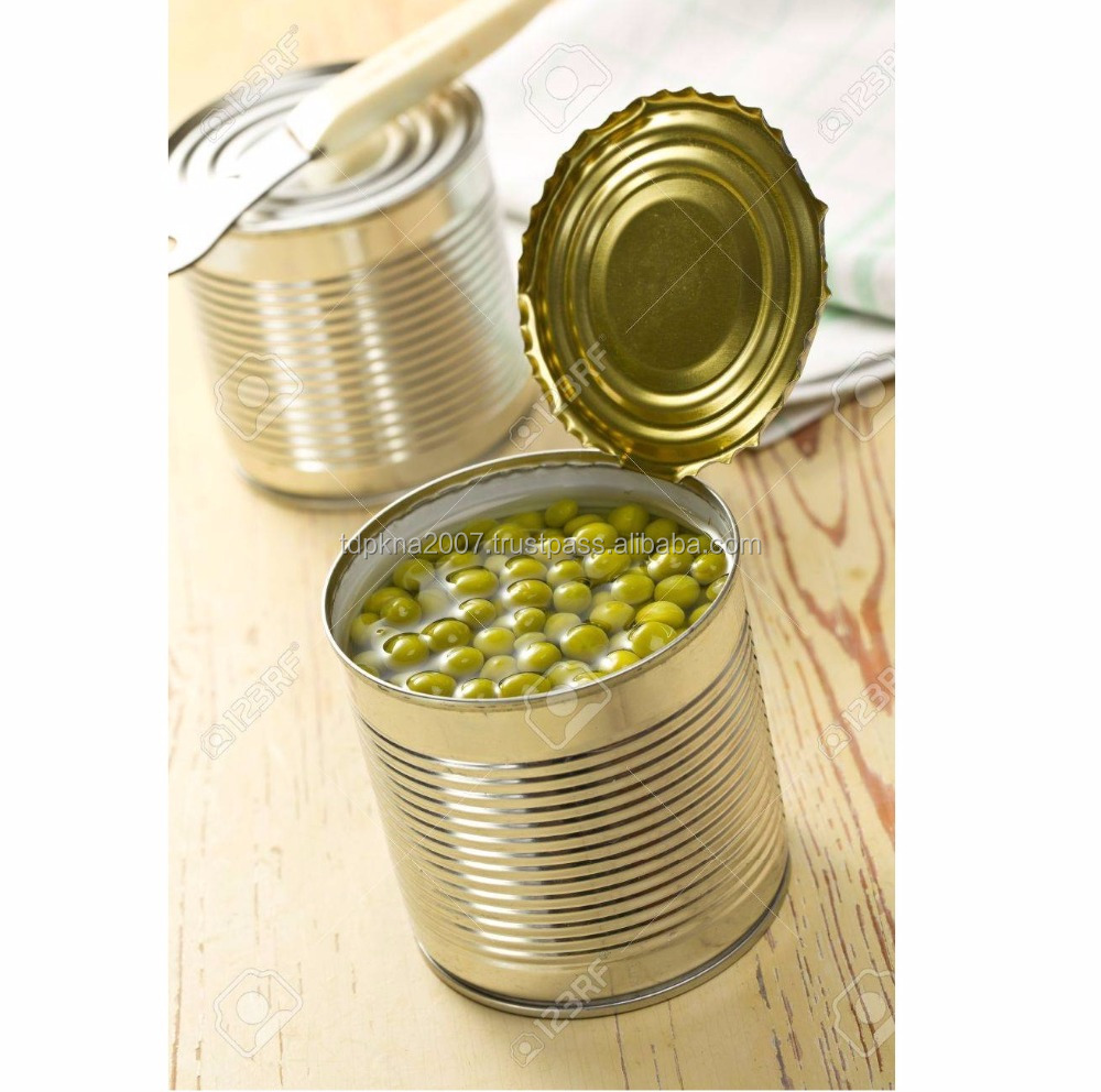 Natural Healthy Green Peas In 425gr Tin 15oz