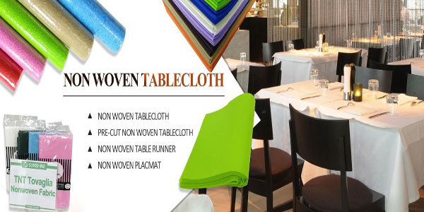 waterproof oilproof disposable table linens furniture non woven table cloth manufacturer