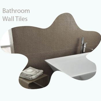 300x450mm Bathroom Digital Wall Tiles 9mm Thickness 3-6% Water Absorption