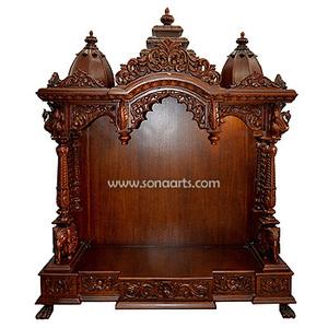 Wooden Temple For Home Wooden Temple Design Manufacturer Exporter Jaipur