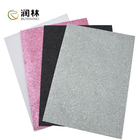 A4 250gsm Glitter Never Fall Down Glitter Paper Color Shimmering Cardboard Paper