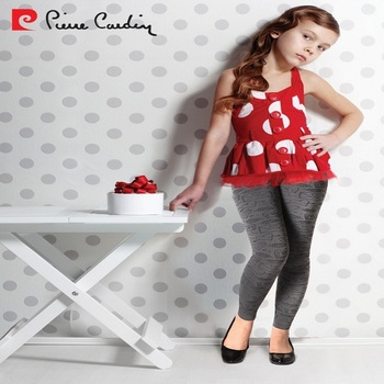 34b5a99fb3097 PIERRE CARDIN OEM KID'S GIRLS TIGHTS COLLECTION ELEGANT PATTERNED SEAMLESS TIGHTS  LEGGINGS