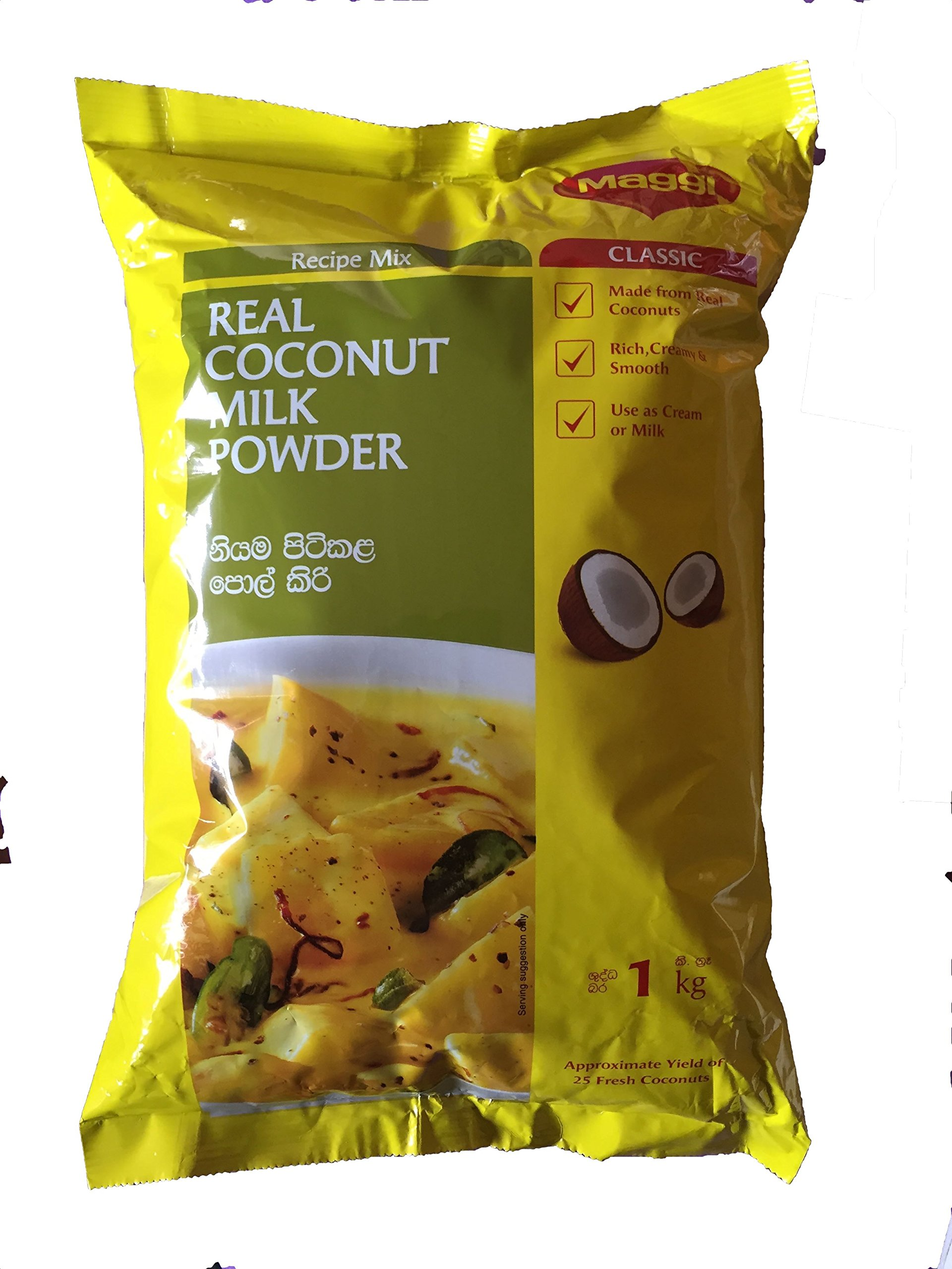 NESTLE - MAGGI Coconut Milk Powder Mix - 1kg Per Bag. MADE FROM SRI LANKA Coconuts