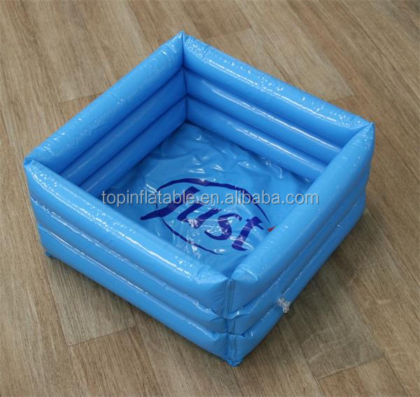 Portable inflatable foot spa tub plastic foot bath basin