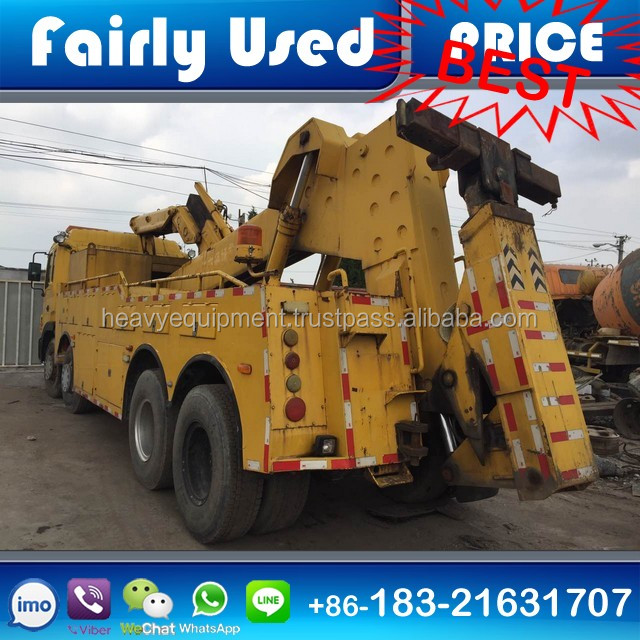 Used 8x4 JAC Wrecker Tow Truck 30-40 ton for sale