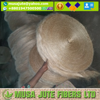 Best Quality Eco-Friendly 100 % LONG TOSSA Filasse Tow Sliver Carding Jute Fiber