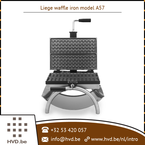 Superior Performance Liege Waffle Iron for Restaurants/ Eating Joints