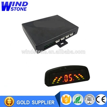 Hottest selling in South America Rainbow LED Display car parking sensor system as Promotion gift