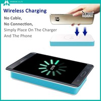 2017 Hot Selling Fast Charging Solar QI Wireless Charger For Mobile Phones