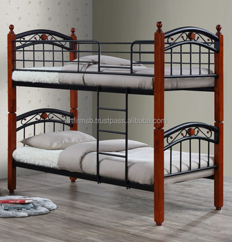 Lexus Metal Wooden Bunk Bed   Buy Bunk Bed,Metal Bed,Wooden Bed Product On  Alibaba.com