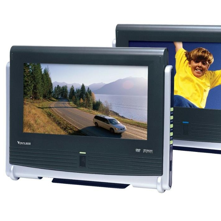 "Venturer Dual 9 ""Mobile DVD Player (Baru)"