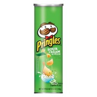 Pringles Chips Flavor Sour Cream Onion kosher chips no sugar added