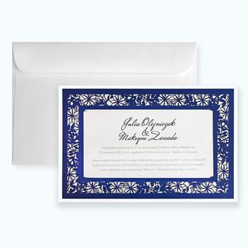 Laser Cut Paper Wedding Cards