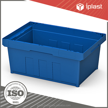 INSTORE nestable plastic crate