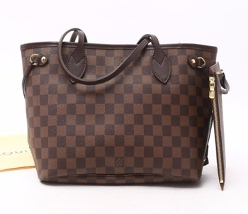 ca89135b3 Used brand Handbag LOUIS VUITTON N41359 Neverfull PM Damier Shoulder Tote  bags for bulk sale.