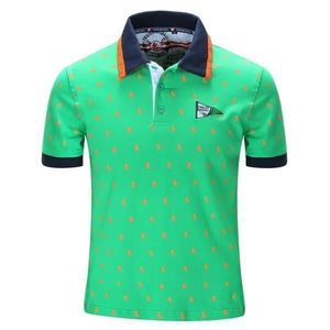 OEM wholesale new fashion printed 100% cotton soft mens polo t shirt