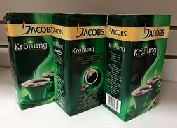 GERMAN ORIGIN JACOBS KRONUNG GROUND COFFEE 500G WITH FACTORY PRICES