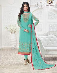 new design of straight cut salwar kameez for women