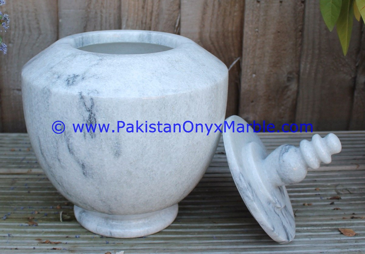High quality cheap price marble urns ziarat carrara white urns handcarved adult pet