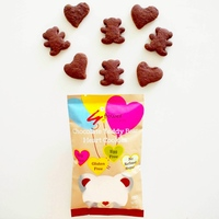 Gluten Free Teddy Shaped Chocolate Biscuits Cookies Snacks