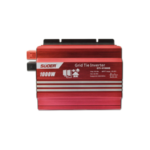Suoer Power Supply Power Inverter Price 1KW 1000 Watt 24V 220V PV MPPT Solar Grid Tie Inverter