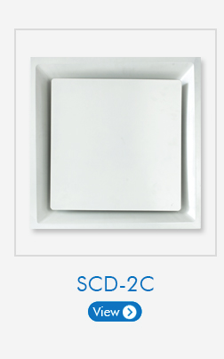 Square Bevel Edge Faced Air Diffusers