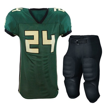 Cheap American Football Uniform International Latest Fashion Custom American Football Jersey Uniform with Game Pant