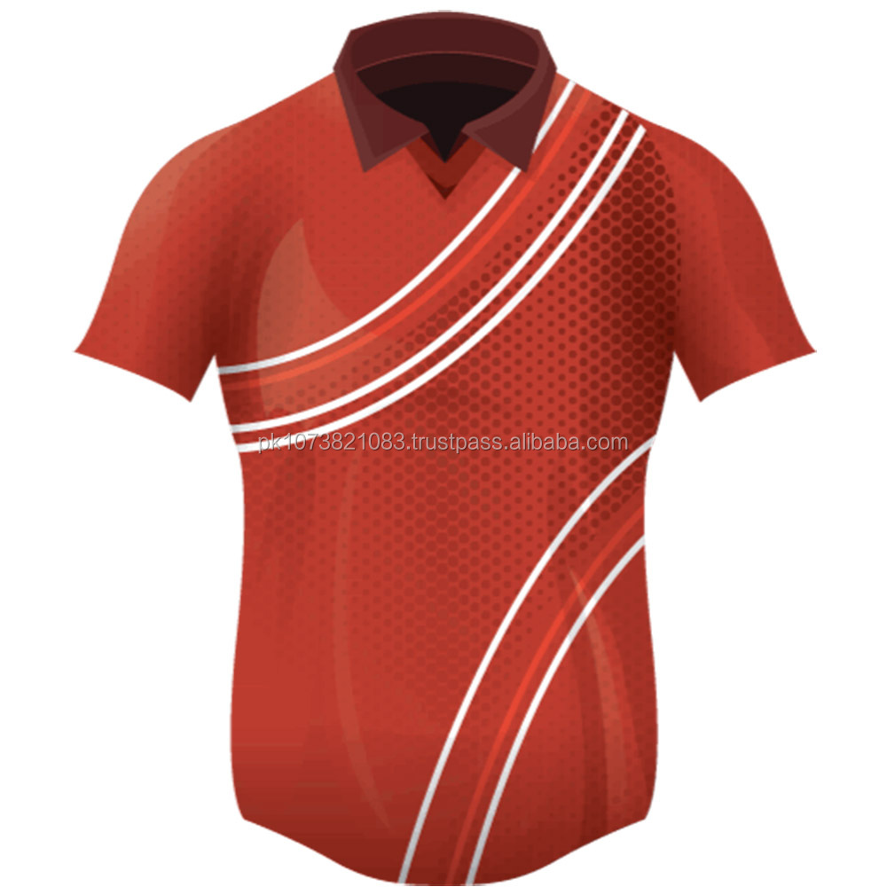 Football Jersey Custom Design T Shirts With Collarsublimation