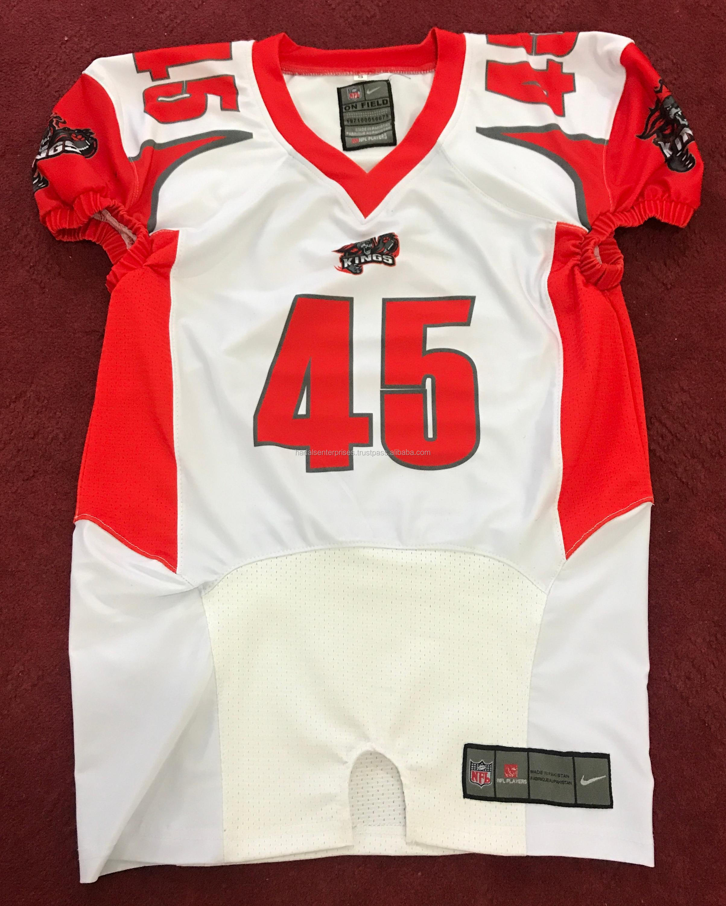 custom design sublimation printing american football uniforms builder