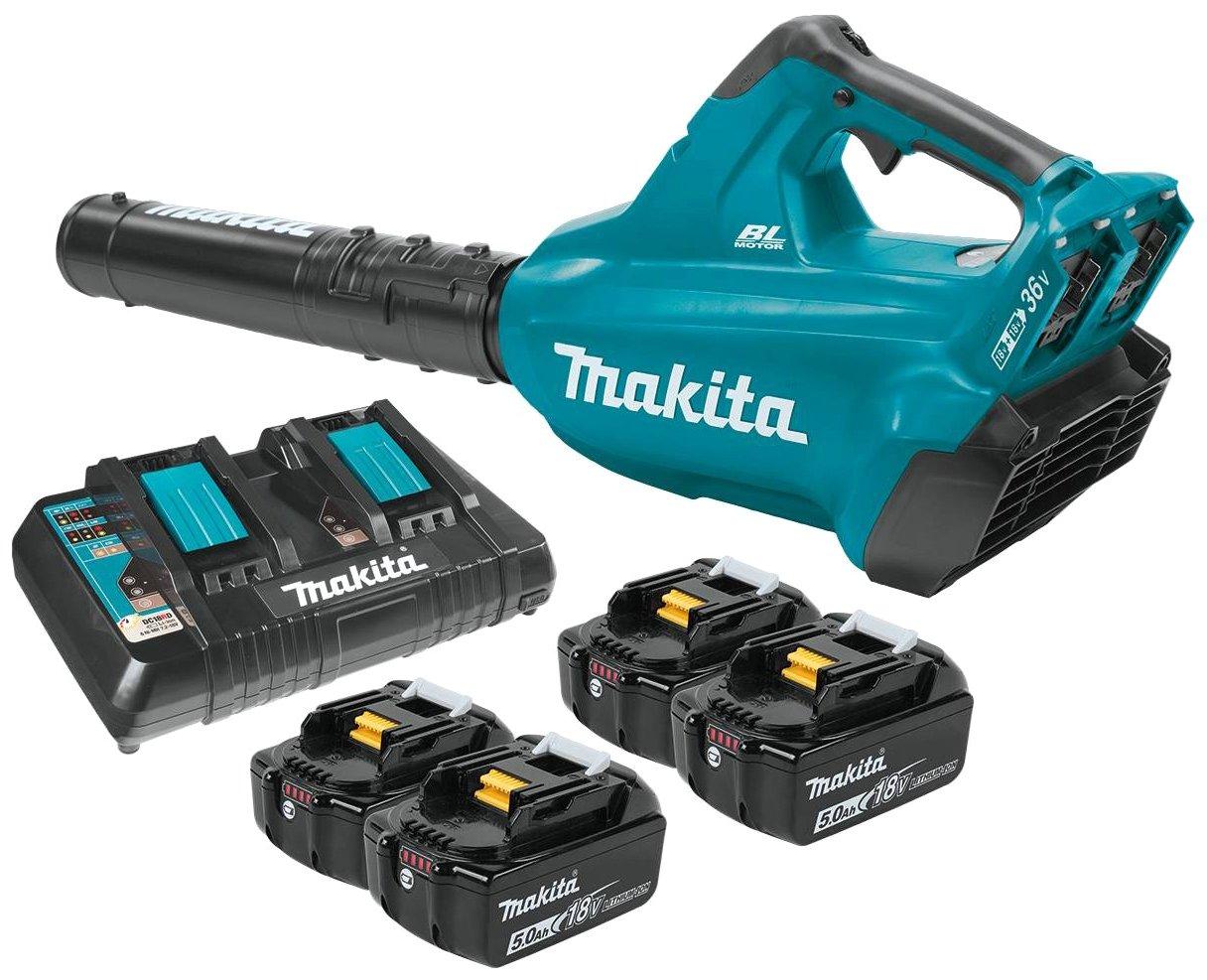 Makita XBU02PT1 Cordless Blower Kit with 4 Batteries